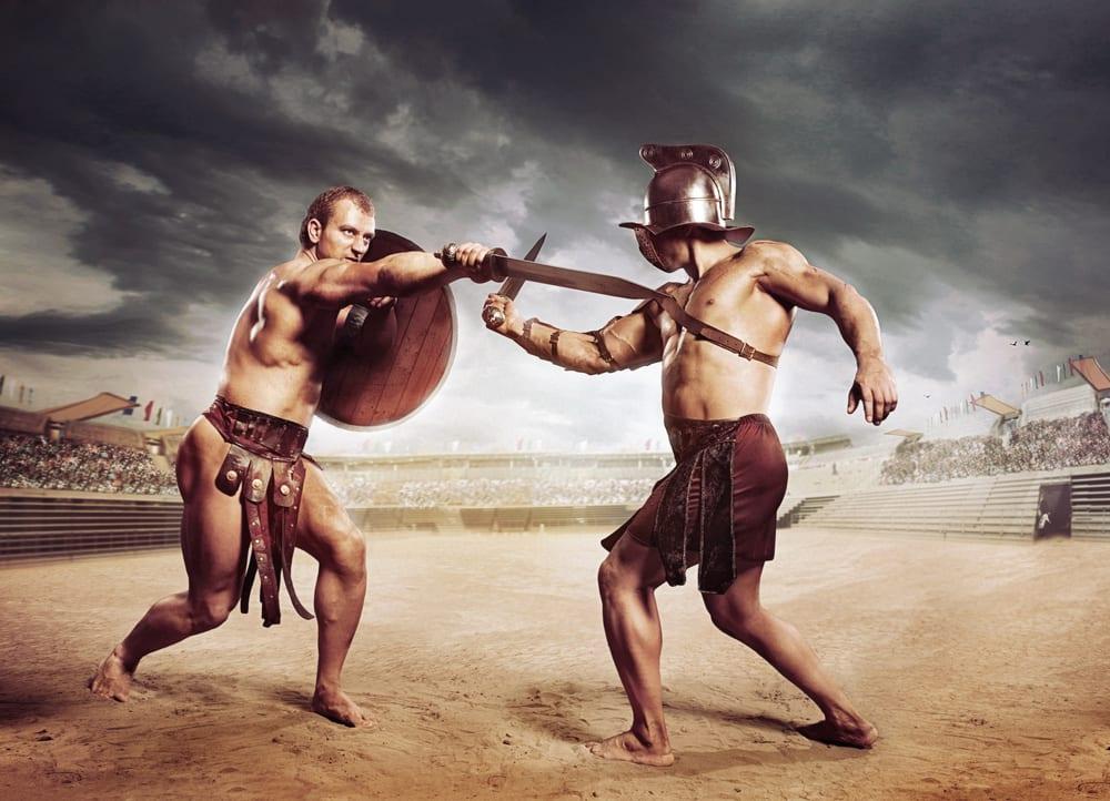 Quando um líder guerreiro pressente a batalha