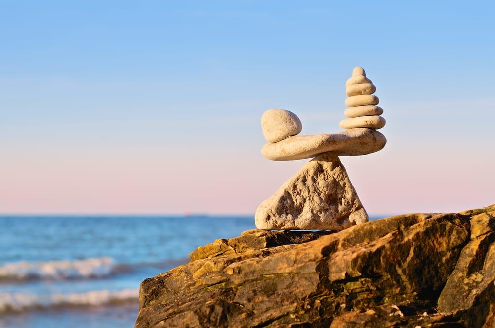 Pensamento em busca do equilíbrio