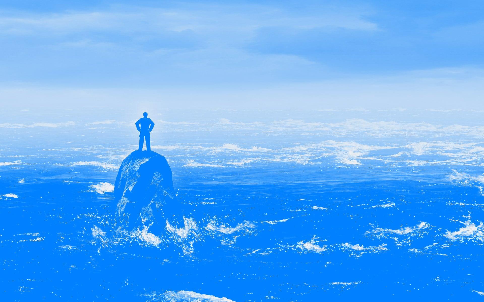 O estado pleno de uma liderança e sua solidão
